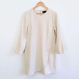 J Crew Cream Shift Dress - size 14